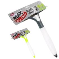 Rodo Limpa Vidros Spray 2 Em 1 125 Ml Verde Borrifador - Max Clean