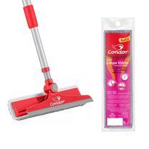 Rodo Limpeza de Vidros Limpa e Seca C/ Refil - Condor