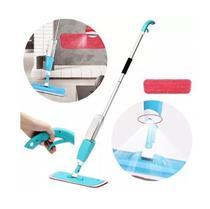 Rodo Mop Spray Vassoura Limpeza Mágica Esfregão com Pad e Reservatório - Alcateia