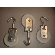 Roldana Plastico Biehl 04cm Com Gancho  4097404 -