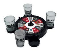 Roleta Esquenta Amigos 4 Shots 50ml Drink Game Jogo Bebida -