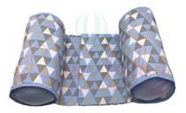 Rolinho Segura Bebê no Berço Soninho Seguro Menino Geométrico - Casa Pedro