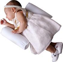 Rolinhos segura bebê branco - Cegonha Baby
