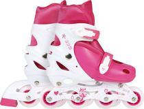 Roller Infantil Rosa Tamanho M 34-37 Mor -