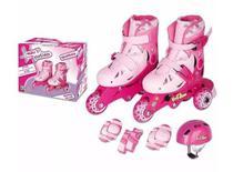 Roller Patins Infantil Classico Triline 3 rodas 26 / 29 - 30 / 33 - Fenix