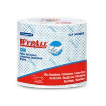 Rolo Azul com 650 Panos Descartáveis Wiper WypAll X60 Kimberly Clark -
