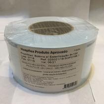 Rolo Bobina Embalagem para Autoclave 10cm X 100 Metros Papel Grau Hospflex -