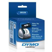 Rolo de Etiquetas em Papel Adesivo Térmico com 150 Unidades para Fitas VHS Label Writer 30326 Dymo -