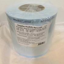 Rolo Embalagem para Esterilização em Autoclave 15cm X 100 Metros Papel Grau Hospflex -