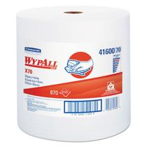 Rolo Jumbo Roll com 750 Panos Descartáveis Wipers WypAll X70 Kimberly Clark -