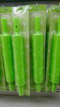 Rolo Marcador Textura Pasta Americana Ou Biscuit cor do Rolo verde marcação BORBOLETAS - Sosecal