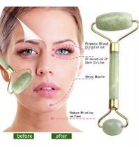 Rolo Massageador Facial Pedra Jade Anti Rugas Massoterapia - Nova Boutique Store