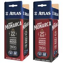 Rolo Monarca 23cm Com Manta Extra Longa 22mm E 25mm Altura - Atlas