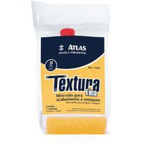 Rolo para pintura 9cm espuma para textura 110-09 Atlas -