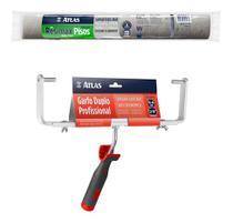 Rolo Para Pintura Resina E Epóxi 46cm Resimax+ Garfo Duplo - Atlas
