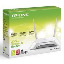 Roteador 3g Wireless Tp-link Tl-mr3420 3g e 4g 300 Mbps - Tp-link Soho - Tp-link Soho