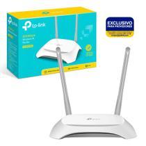 Roteador e Repetidor Wi-Fi N300 Mbps TP-Link 2 Antenas P/ Provedor Agile Config - TL-WR840NW V6 -