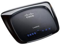 Roteador Wireless 150mbps 4 Portas - Linksys WRT120N + Software para Controle da Rede