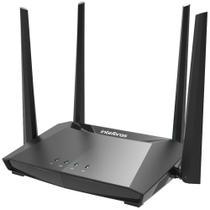 Roteador Wireless Intelbras Action RG 1200 Gigabit Dual Band AC1200 Mbps 4 Antenas Mu-Mimo Preto -