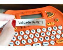 Rotulador brother eletronico e portatil laranja- pt70 -