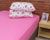 9f33d6d1be Roupa de cama conjunto flores iogurte - Pertutty soft