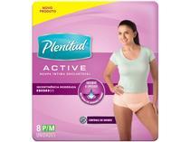 Roupa Íntima Descartável P/M Plenitud - Active Mulher 8 Unidades
