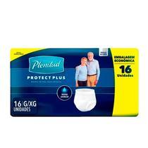Roupa Íntima Descartável Plenitud Protect Plus G/XG C/16 - Kimberly-clark worldwide