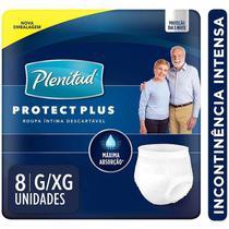 Roupa Intima Plenitud Protect Plus G/XG  8 unidades -