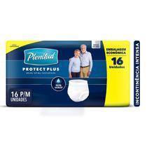 Roupa Intima Plenitud Protect Plus P/M - 16 unidades -