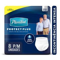 Roupa Íntima Plenitud Protect Plus P/M 8 Unidades -