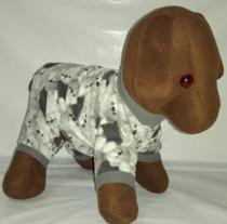 Roupa para cachorro e gato inverno Pijama Macacão  Ninelai -