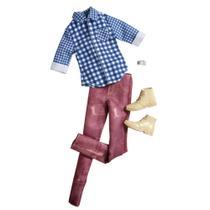 Roupinha para Bonecos Ken Fashionista - Roupa Caipira - Mattel -