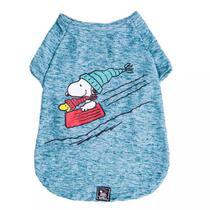 Roupinha para cães Camiseta de inverno para cachorro Snoopy Wood Bowl Slide Zooz Pets -