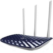 Router wireless tp-link ac 750 archer c20 dual band - 4 lan - 3 antenas - versão 4.0