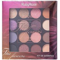 Ruby Rose The Flowers - Paleta de sombras 11g -