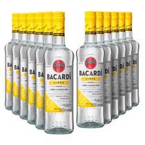 Rum Bacardi Limon 980ml - Kit 12 Unidades -