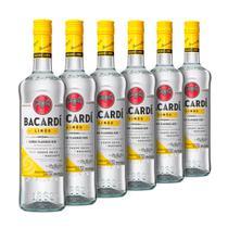 Rum Bacardi Limon 980ml - Kit 6 Unidades -