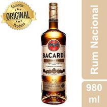 Rum Carta Oro Garrafa 980ml - Bacardi -