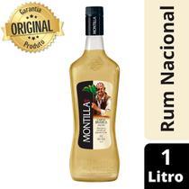 Rum Nacional Carta Branca Garrafa 1 Litro - Montilla -