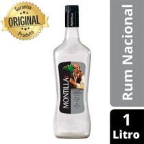Rum Nacional Carta Cristal Garrafa 1 Litro - Montilla -