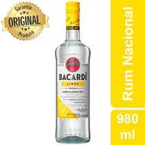 Rum Nacional Limón Garrafa 980ml - Bacardi -