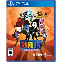 Runbow Deluxe Edition - Ps4 - Sony
