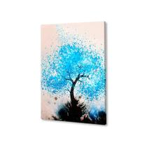 rvore Aquarela Quadro Placa Decorativa MDF 20x30 - Neyrad