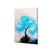 rvore Aquarela Quadro Placa Decorativa MDF 70x50 - Neyrad