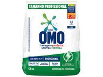 Sabão em Pó Concentrado Omo Lavagem Perfeita - Sanitiza e Higieniza Profissional 5,6kg