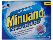 Sabão em Pó Minuano Máxima Proteção - Ação Profunda 1kg