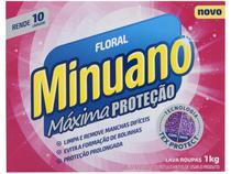 Sabão em Pó Minuano Máxima Proteção Floral - 1kg