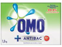 Sabão em Pó Omo Antibac - 1,8kg