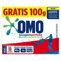 Sabão em pó OMO Lavagem Perfeita 800g - Unilever