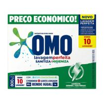 Sabão Pó Lavagem Perfeita Sanitiza Higieniza OMO 800g Caixa - Não Informada -